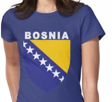 Bosnia and Herzegovina National Sports Womens Fitted T-Shirt