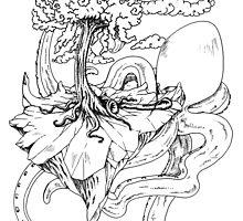 Dangerous tentacle 2! by gigaillustrator