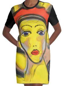 New Orleans Ladies Graphic T-Shirt Dress