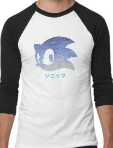 Sonic Aesthetic - Vaporwave Men's Baseball ¾ T-Shirt