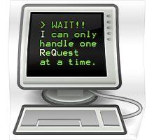 Computer Nerd - Interrupt Request Poster