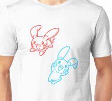Plusle and Minun Best Friends shirt Unisex T-Shirt