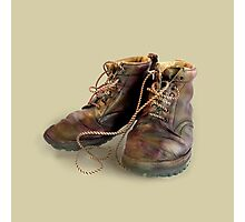 boots - Anne Winkler Photographic Print