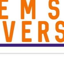 Clemson University - Style 10 Sticker