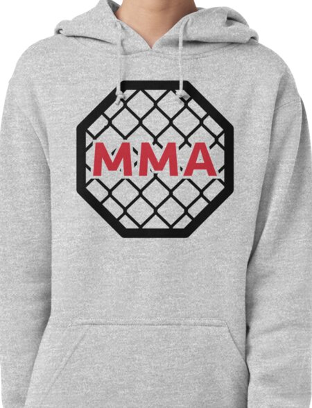MMA Cage & Ring Pullover Hoodie