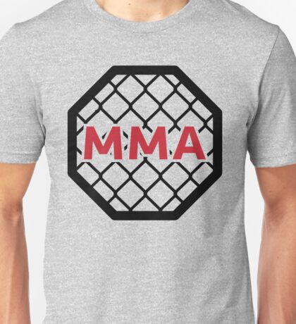 MMA Cage & Ring Unisex T-Shirt