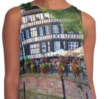 Dining in Alsace Contrast Tank