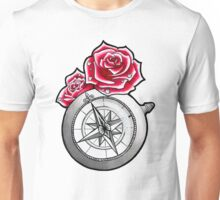Rose Compass Unisex T-Shirt