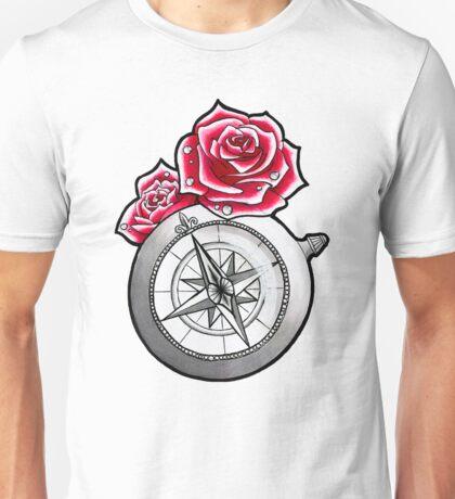 Rose Compass Unisex T-Shirt