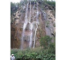Plitvice Lakes National Park - Waterfalls - Slovenia Photographic Print