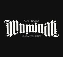 Combined Crew Ambigram - DARK by Aus-Illuminati