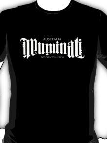 Combined Crew Ambigram - DARK T-Shirt