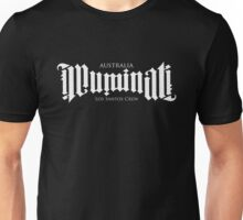 Combined Crew Ambigram - DARK Unisex T-Shirt