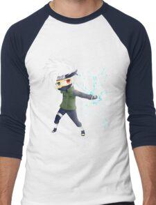 Kakashi Sensei Men's Baseball ¾ T-Shirt