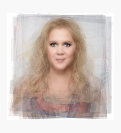 Amy Schumer Portrait Photographic Print