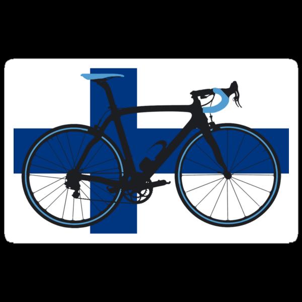 Bike Flag Finland (Big - Highlight) by sher00