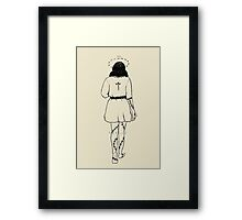 witchy witchy 1.0 Framed Print