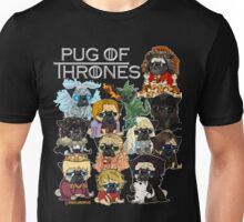 Pug of Thrones Unisex T-Shirt