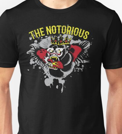 The Notorious Conor-McGregor Tattoo Shirt Unisex T-Shirt