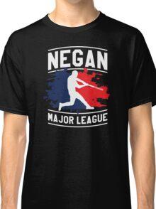 Negan Major League Baseball Lucille Walking Dead Classic T-Shirt