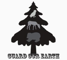 Guard our Earth - Contest Entry Kids Tee