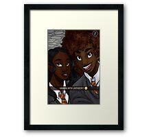 Hogwarts Blackout #3 Framed Print