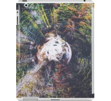 autumn snow in the forest iPad Case/Skin
