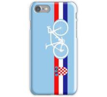 Bike Stripes Croatia iPhone Case/Skin