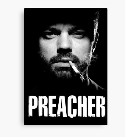 THE BEST PREACHER T-SHIRT Canvas Print