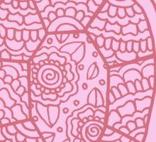 turtle pink ii  Sticker