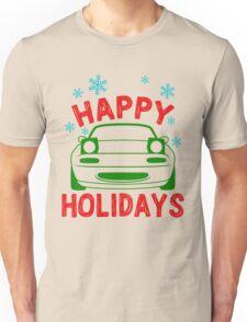 Happy Holidays - miata Unisex T-Shirt