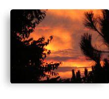 Milwaukee Sunset Canvas Print