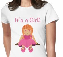 It's a girl!- version 2 Womens Fitted T-Shirt