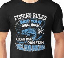 fishing rule shirt Unisex T-Shirt