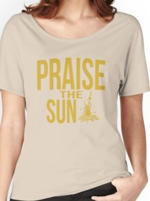 Praise the sun - gold Women's Relaxed Fit T-Shirt