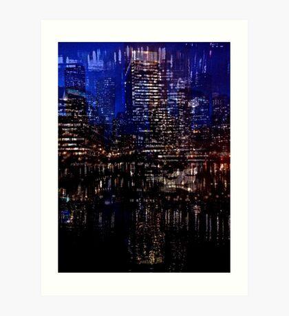 Fort Point Nocturne Art Print