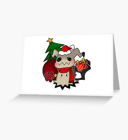 Mimikyo christmas gift Greeting Card