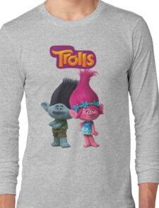 trolls branch and poppy Long Sleeve T-Shirt