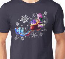 Dashing through the snow Unisex T-Shirt