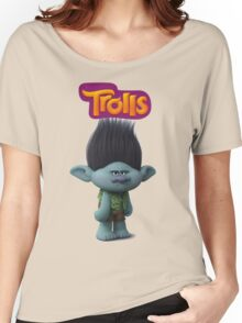 branch troll Women's Relaxed Fit T-Shirt