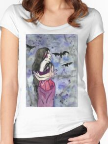 Christina Death Women's Fitted Scoop T-Shirt