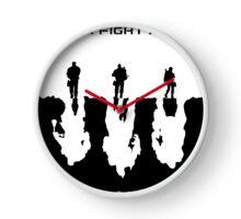 Never Fight Alone Clock
