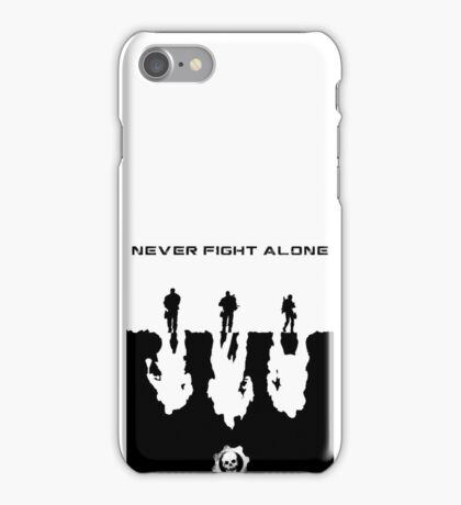 Never Fight Alone iPhone Case/Skin