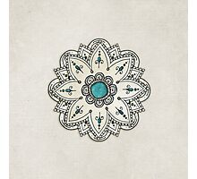 Pen sketch mandala Photographic Print