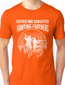 Father and Daughter Hunting Partners T-Shirt Unisex T-Shirt
