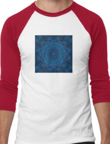 Circuitry Mandala Squared Men's Baseball ¾ T-Shirt