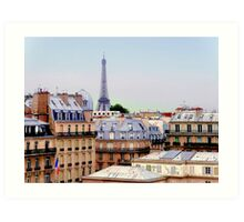 paris three Art Print
