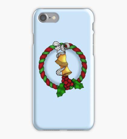 Holly Wreath 2 iPhone Case/Skin