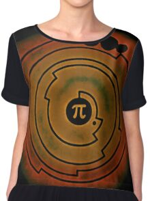 I Want to Believe (In Pi) Chiffon Top