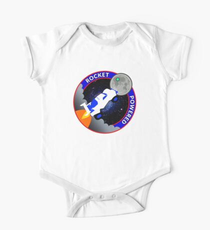 Rocket Powered Mission Patch One Piece - Short Sleeve